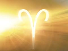 Sun Burst Astrological Aries Symbol